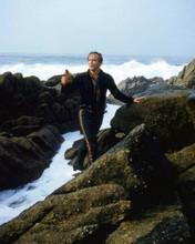 Marlon Brando on Pfeiffer Beach Big Sur CA filming One Eyed Jacks 8x10 photo