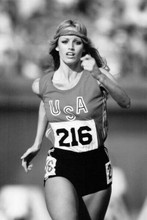 Susan Anton plays Olympic runner in 1979 Goldengirl movie 4x6 inch real photo