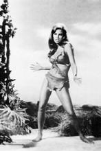 Raquel Welch One Million Years BC striking pin-up pose fur bikini 4x6 real photo