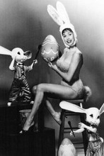 Mary Tyler Moore cute pose in bunny outfit showing cleavage 4x6 inch photo