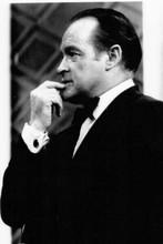 Bob Hope classic in profile wearing tuxedo 1960's era 4x6 inch photo