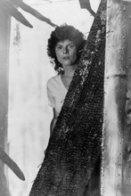 Adrienne Barbeau looks startled 1982 Swamp Thing 4x6 inch real photo