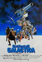 Battlestar Galactica 1978 movie poster artwork Hatch Benedict Greene 8x12 photo