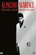 Scarface 1983 classic DVD release poster artwork Al Pacino in white 8x12 photo