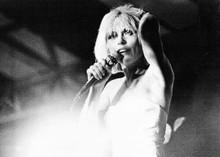 Deborah Harry in 1970's performing with Blondie on stage 5x7 inch photo