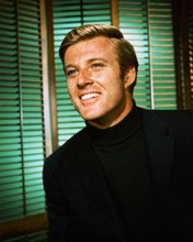Robert Redford classic smiling portrait 1967 Barefoot in the Park 8x10 photo