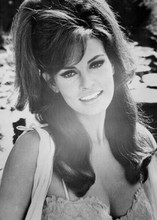 Raquel Welch 1968 smiling portrait Biggest Bundle of Them All in lingerie 5x7