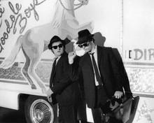 The Blues Brothers cool pose John Belushi & Dan Aykroyd 8x10 inch photo