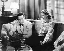 Casablanca classic Humphrey Boagrt in white tux Ingrid Bergman 8x10 inch photo