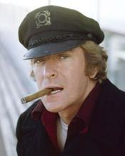 Michael Caine with trademark cigar 1979 Beyond The Poseidon Adventure 8x10 photo