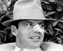 Jack Nicholson wears his classic Gittes fedora hat 1974 Chinatown 8x10 photo