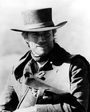 Clint Eastwood with dynamite in saddle bag as The Preacher Pale Rider 8x10 photo