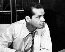 Jack Nicholson looks suave in shirt & waistcoat 1974 Chinatown 8x10 inch photo