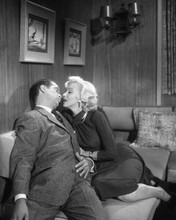 Gentleman Prefer Blondes Marilyn Monroe on sofa with Tommy Noonan 8x10 photo