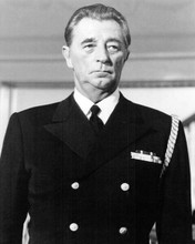 Robert Mitchum in his Navy uniform as Pug Henry The Winds of War 8x10 inch photo