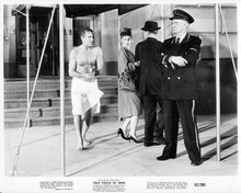 That Touch of Mink 1962 original 8x10 photo Cary Grant bare chested with towel