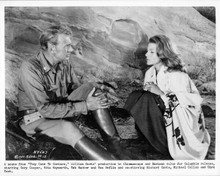 They Came To Cordura 1959 original 8x10 photo Gary Cooper Rita Hayworth mountain