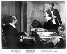 That Touch of Mink 1962 original 8x10 photo Cary Grant Gig Young in office