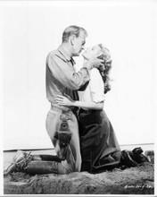 They Came To Cordura 1959 original 8x10 photo Gary Cooper Rita Hayworth romantic