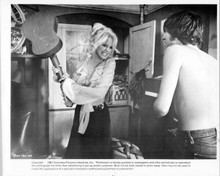There's A Girl in My Soup 1970 original 8x10 photo Goldie Hawn holds guitar
