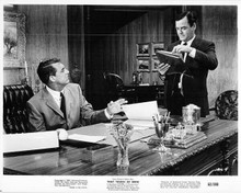 That Touch of Mink 1962 original 8x10 photo Cary Grant behind desk Gig Young