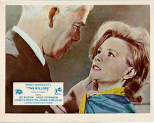 The Killers 1964 Lee Marvin threatens Angie Dickinson 8x10 inch photo