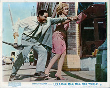 It's A Mad Mad Mad Mad World Sid Caesar with pick axe Dorothy provine 8x10 photo
