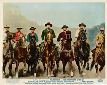 The Magnificent Seven Brynner McQueen Dexter Vaughn Bronson Coburn Buchholz 8x10