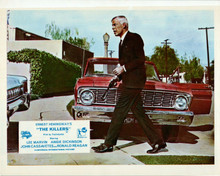 The Killers Lee Marvin with silencer by Ford Galaxie 8x10 inch photo