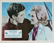 The Killers 1964 John Cassavetes romances Angie Dickinson 8x10 inch photo