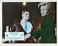 The Killers Ronald Reagon viciously hits Angie Dickinson in the face 8x10 photo