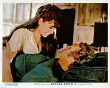Nevada Smith Suzanne Pleshette & Steve McQueen in bed 8x10 inch photo