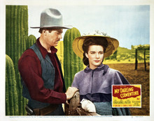 This is an image of Vintage Reproduction Lobby Card of My Darling Clementine 295004