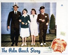 This is an image of Vintage Reproduction Lobby Card of The Palm Beach Story 295021