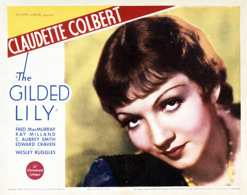This is an image of Vintage Reproduction Lobby Card of Gilded Lady 295023