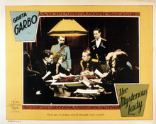 This is an image of Vintage Reproduction Lobby Card of The Mysterious Lady 295051