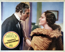 This is an image of Vintage Reproduction Lobby Card of Perfect Understanding 295064