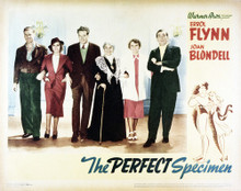 This is an image of Vintage Reproduction Lobby Card of The Perfect Specimen 295076