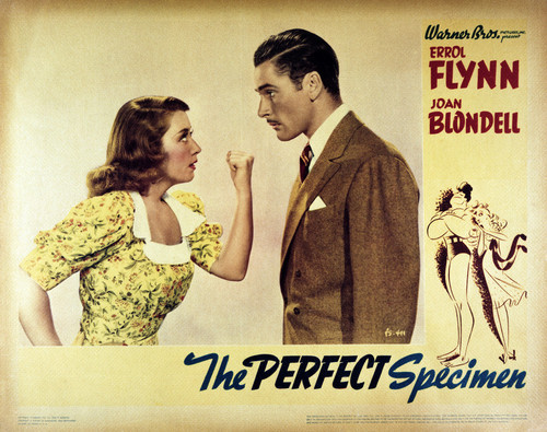This is an image of Vintage Reproduction Lobby Card of The Perfect Specimen 295234