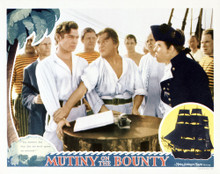 This is an image of Vintage Reproduction Lobby Card of Mutiny on the Bounty 295238