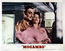 This is an image of Vintage Reproduction Lobby Card of Mogambo 295244