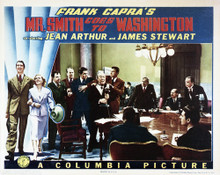 This is an image of Vintage Reproduction Lobby Card of Mr. Smith Goes to Washington 295248