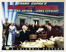 This is an image of Vintage Reproduction Lobby Card of Mr. Smith Goes to Washington 295249