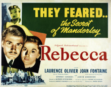 This is an image of Vintage Reproduction Lobby Card of Rebecca 295251