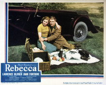 This is an image of Vintage Reproduction Lobby Card of Rebecca 295253