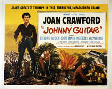 This is an image of Vintage Reproduction Lobby Card of Johnny Guitar 295254