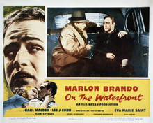 This is an image of Vintage Reproduction Lobby Card of On the Waterfront 295265