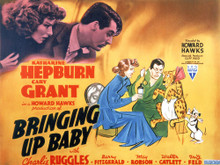 This is an image of Vintage Reproduction Lobby Card of Bringing Up Baby 295839