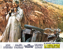 This is an image of Vintage Reproduction Lobby Card of A Fistful of Dynamite 295857