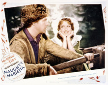 This is an image of Vintage Reproduction Lobby Card of Naughty Marietta 296207